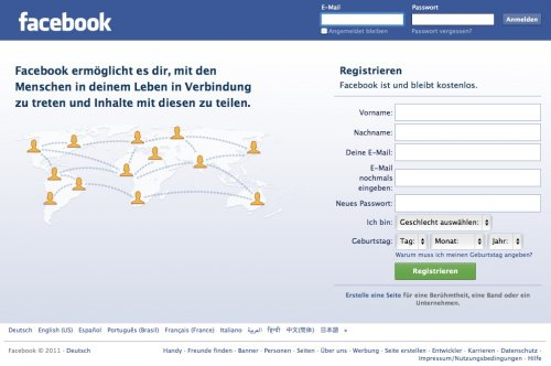 facebook login deutsch Mannheim